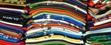Dobrej jakości ubrania używane złożone nastole